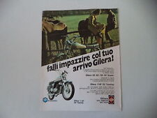 advertising Pubblicità 1973 MOTO GILERA GILERA 50 7HP 5V TOURING