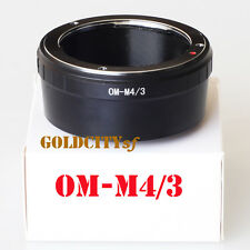 Olympus Lens to Olympus Micro Four Thirds OM-M4/3 Mount Adapter Ring