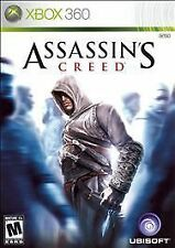 ASSASSIN'S CREED MICROSOFT XBOX 360 GAME DISC AND CASE