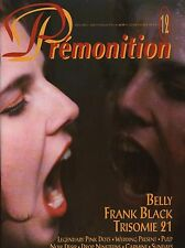 Indie mag PREMONITION No.12(Fev.1993)-BELLY/Fr. BLACK/TRISOMIE 21/NOIR DESIR..