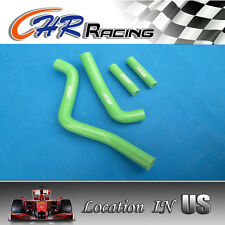 silicone radiator hose for Kawasaki KX125 KX 125 99-02 1999 2000 2001 2002 GREEN