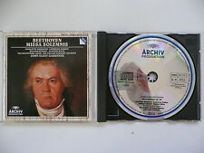 Gardiner conducts  Beethoven Missa Solemnis EBS Archiv 419 779 CD
