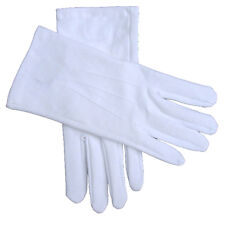White Cotton Gloves X-Large