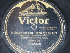 JAZZ 78 rpm RECORD Victor ALL STAR TRIO / PALACE TRIO Oh! By Jingo! / Nobody...
