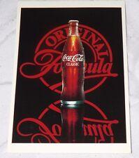Postcard Coca-Cola Original Formula Classic New Unposted