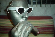 VINTAGE NEW OPTICAL AFFAIRS CHRISTIAN ROTH 6563 WHITE SUNGLASSES