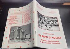 UN ANNO DI VOLLEY RISULTATI E CLASSIFICHE DELLA B1-B2-C1 DEL CAMP.1994-95-OTTIMO