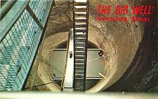 Vintage PC; The Big Well, Greensburg, KS Kiowa Co. World's largest hand dug well