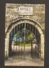 GRAY (70) GRILLE en Fer Forgé de LA TOUR du CHATEAU , MUSEE Baron MARTIN en 1965