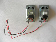 Logik L19DVDB19 Pair Speakers 8R 5W  YDT47-8NbGH  09246A with Leads and Plug