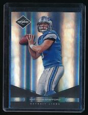 1/1 MATTHEW STAFFORD 2011 LIMITED PLATINUM SPOTLIGHT #34 DETROIT LIONS