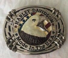 New Vtg. Harley Davidson Eagles Claw Raintree Belt Buckle