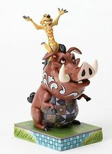 Disney Traditions Timon Pumbaa Lion King Carefree Cohorts Figurine 18cm 4054281