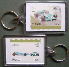 1969 Matra Ford MS80 / MS-80 Car Stamp Keyring (Auto 100 Automobile)