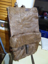 Vintage 1944 Swiss Army Cowhide Leather Backpack Military sac a dos WWII