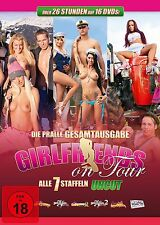 16 DVD-Box ° Girlfriends on Tour ° Komplettbox ° Staffel 1 - 7 ° NEU & OVP