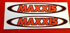 Maxxis Tire Tyres Drift Stickers 4 x 100mm Sticker Decal Stickers Maxis
