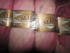 KNITTING WOOL & YARN - 5 x 100g - ALIZE ANGORA GOLD BATIK - MULTI... 1895
