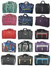 """21"""" Holdall Hand Luggage Cabin Approved Carry On Flight Bag Light Weight 0.55kg"""