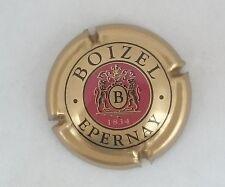 capsule champagne BOIZEL n°9 or bordeaux et noir