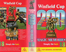 WINFIELD CUP 200 MAGIC MOMENTS Vol. 8 - VHS - PAL - NEW - Never played - RARE!!