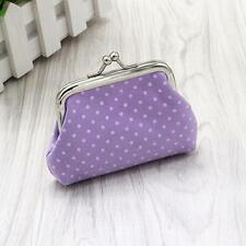 Cute Women Girls Change Coin Purse Mini Leather Zipper Wallet Key Holder Pouch