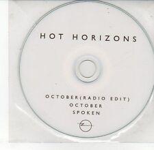 (DV594) Hot Horizons, October / Spoken - DJ CD