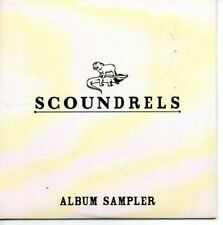 (AS450) Scoundrels, album sampler - DJ CD