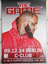 THE GAME 2014 BERLIN  orig.Concert-Konzert-Tour-Poster-Plakat DIN A 1