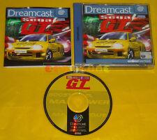 SEGA GT Sega Dreamcast Dc Versione Europea PAL »»»»» COMPLETO