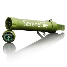Serene-Life SLWFS10 Survival Water Filter Straw - Outdoor Pocket Water Purifier