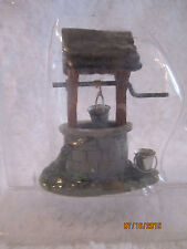 "TRAIN GARDEN VILLAGE HOUSE "" The WISHING WELL ACCESSORY "" + DEPT 56/LEMAX info"