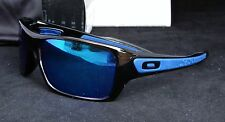New Oakley 9263-05 TURBINE Sunglasses Black Ink / Sapphire Iridium Lenses