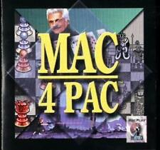 Mac 4 Pac CD Battle Chess, Omar Sharif on Bridge, Out of This World, CheckMate