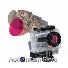 MAGENTA FILTER for AQUAPIXS FLAT GOPRO LENS for HD HERO2, HD HERO & 3D housing