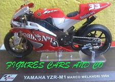 MOTO GP 1/24 SERIE 2 YAMAHA YZR M1 MARCO MELANDRI  2004  MOTORCYCLE MOTORRAD