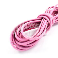 3mm x 10m PALE PINK BUNGEE ELASTIC SHOCK CORD - CLOTHING JEWELLRY CRAFTS SEWING