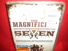 THE MAGNIFICENT SEVEN 4-MOVIE DVD Collection 4-DISC RARE ✔☆MINT☆✔ Steve McQueen