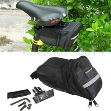 Bike Bicycle Cycling Rear Seat Saddle Tube Bag Tool Carrier Pouch Accessories UK