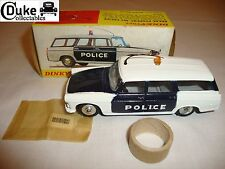 FRENCH DINKY 1429 BREAK PEUGEOT 404 POLICE CAR - EXCELLENT in orig BOX - V RARE