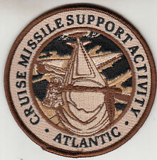 CRUISE MISSILE SUPPORT ACTIVITY ATLANTIC DESERT PATCH