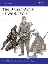 Osprey Men at Arms WW1 The Italian Army of World War One illustrated 2003 vgc