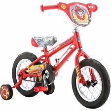 "12"" Paw Patrol Marshall Boys' Training Wheels BMX Bike Kids bicycle tricycle"