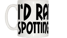 I'd Rather Be Spotting Aircraft Mug