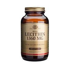 Solgar Lecithin Soya (Unbleached) 1360 mg # 1540