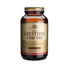 Solgar Lecithin Soya (Unbleached) 1360 mg # 1540 (100 Capsules)
