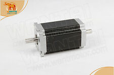 AU Free! Wantai 1PC Nema34 Stepper Motor 1.8° Dual Shaft 3.5A 1600oz-in 151mm