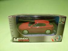 MONDO MOTORS  1:43  ALFA ROMEO  BRERA   -   IN BOX  -  IN GOOD CONDITION