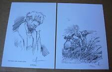 LOISEL AOUAMRI - Avant QUETE OISEAU DU TEMPS 2 ex-libris Editions du Café