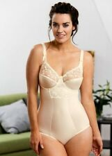 Miss Mary of Sweden Underwired Bodysuit 3610 Chapagne Size 42E Box1471 k